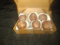 Chocolate penut butter balls