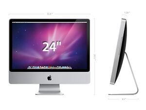 "MINT APPLE iMAC 24"" 2.4 GHZ CORE 2 DUO 2GB RAM-MISSISSAUGA"