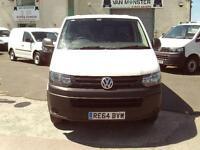 Volkswagen Transporter T28 2.0tdi swb 102ps Startline DIESEL MANUAL WHITE (2014)