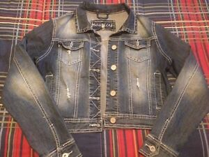 Maurice's size med ladies jean jacket