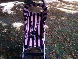 maclaren juicy couture buggy with cosytoes