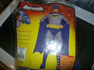 men's batman costume-NEW