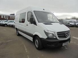Mercedes-Benz Sprinter 313 Cdi Crew Van DIESEL MANUAL WHITE (2015)
