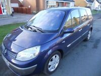 Renault Grand scenic 7 seater full mot ( not zafira, galaxy, s max, espace)