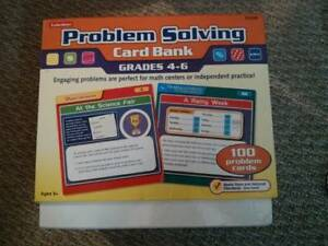 Lakeshore Problem Solving Card Bank Grades 4-6