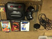Swag mega drive with 4 games