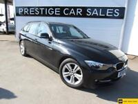 2015 BMW 3 Series 2.0 318d Sport Touring (s/s) 5dr Diesel black Manual