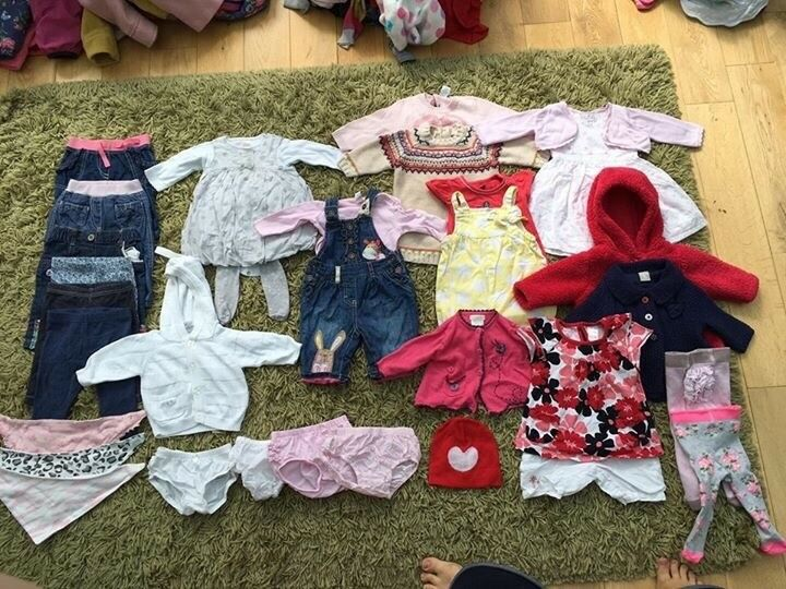 0-3 Months large girls bundle MOSTLY NEXT