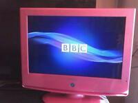 HD iPod HDMI Pink girls TV freeview and remote included ##EMAIL ONLY##