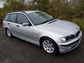 E46 BMW 320D Tourer **DIESEL**ESTATE**TOWBAR**LOW MILES**YEARS MOT**50MPG**Must See