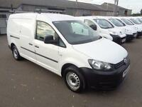 Volkswagen Caddy MAXI 1.6TDI 102PS VAN DIESEL MANUAL WHITE (2013)