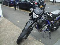 Yamaha WR125 X 124cc Very Low mileage!