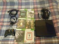 Xbox 360 E 250GB and 6 Games