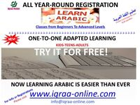 Arabic learning***Free Trial