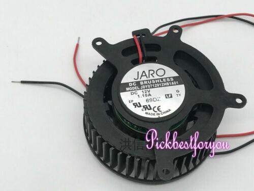 JARO JDY0712912HB1A01 DC12V 1.10A large air volume ball fan 90warranty #M342D QL
