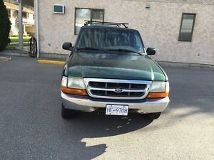 2000 Ford Ranger with canopy p/u  Truck
