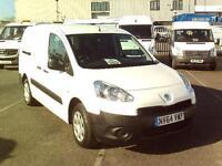 Peugeot Partner 716S 1.6 HDI 92 CREW VAN DIESEL MANUAL WHITE (2015)