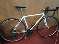 Road bike with nearly all new parts