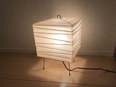 Isamu Noguchi AKARI 3X Floor lamp Washi Paper Japanese Light Used