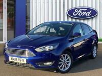 Ford Focus 1.0t Ecoboost Titanium Hatchback 5dr Petrol s/s 125 Ps PETROL Manual