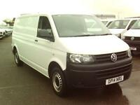 Volkswagen Transporter T30 LWB STARTLINE TDI 102PS VAN DIESEL MANUAL (2014)