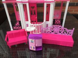 Barbie Doll Toy Play House