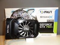 750ti 2gb Gaming Graphics Card As New