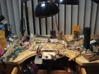 LOOKING to share SILVERSMITHING STUDIO. i have tool- lots.