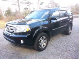 Honda Pilot Nav, DVD, Leather