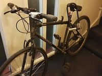 Kona 'Smoke' Bicycle (Good Condition, New Front Wheel).