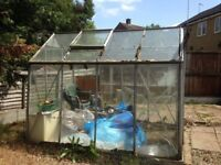 6ft x 4ft Glass Greenhouse