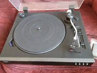 Bush record player CTT9339 full size cab be connected USB with 2 extra stylus