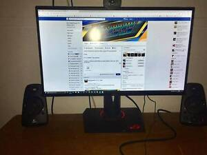 ASUS PG279Q ROG Swift 27in 165Hz G-Sync IPS Gaming Monitor Blandford Upper Hunter Preview
