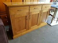 Next large 3 drawer sideboard, new condition