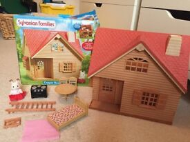 Sylvanian Familiy House and accessories.