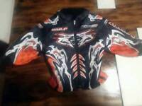 Child's wolf racing motocross jacket
