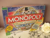 Monopoly Here & Now : The World Edition Electronic Banking- Brand New, Sealed