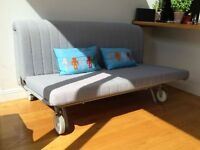 Ikea PS Lovas Sofa Bed, without cover. Available from 20th of SEPTEMBER
