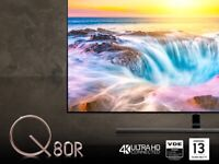 Samsung 2019 65 inch Q80R QLED 4K HDR 1500 Smart TV with Apple TV app