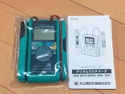 Kyoritsu Electric 60a Ac Dc Clamp With A Digital Multimeter Kewmate 2000a