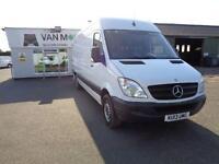 Mercedes-Benz Sprinter 313 CDI LWB 3.5T HIGH ROOF VAN DIESEL MANUAL WHITE (2013)