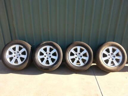 Holden VE omega 4 wheels, rims, tyres