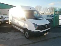Volkswagen Crafter CR35 mwb High Roof 109ps Startline DIESEL MANUAL WHITE (2013)