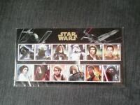Star wars stamp collection