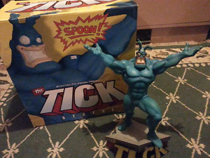 The Tick statue