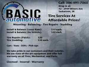 *Great Prices* Tires - Mechanical - Parts - Autobody