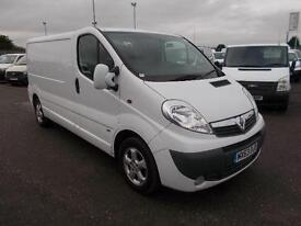 Vauxhall Vivaro 2.0Cdti [115Ps] Sportive Van 2.9T Euro 5 DIESEL MANUAL (2013)