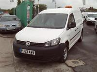 Volkswagen Caddy Maxi 1.6TDI 102ps Startline DIESEL MANUAL WHITE (2014)