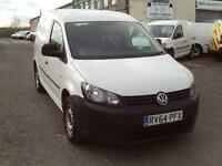 Volkswagen Caddy 1.6TDI 102ps Startline DIESEL MANUAL WHITE (2014)