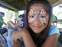 Professional Face Painter - and other party services
